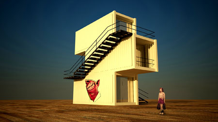 M2ATK Container House